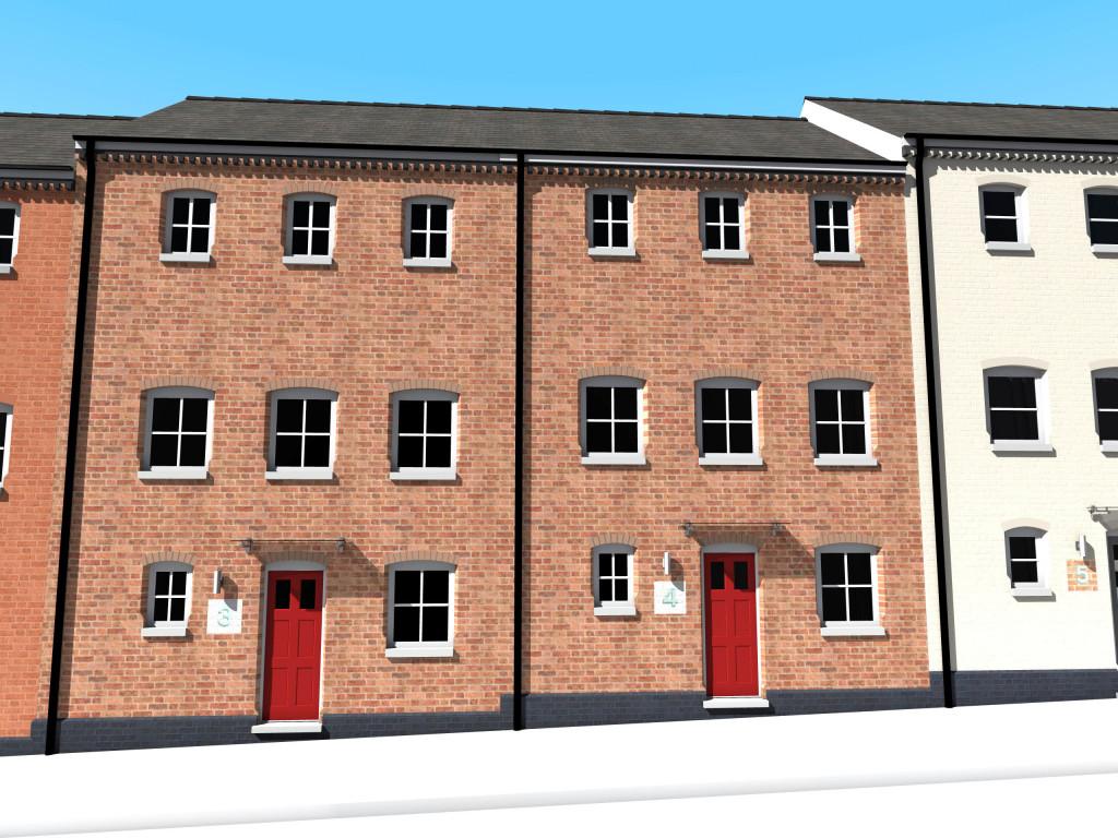 Pemberton Street Visual 6 Plots 3 and 4