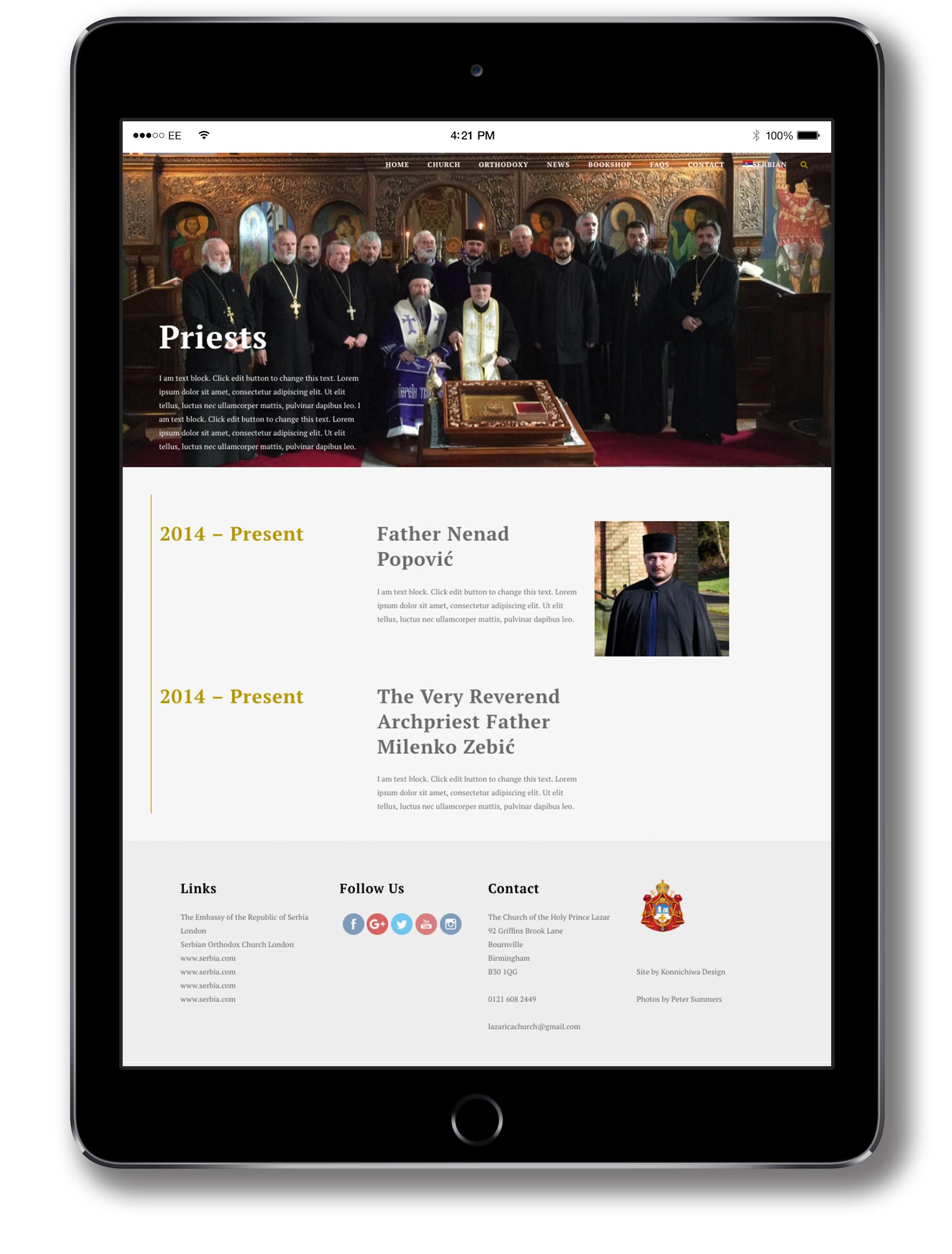Lazarica Priests